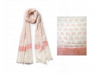 PAZ Collective: Elefun Handprinted Scarf