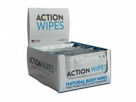 Life Elements: Action Wipes Single Packs with 2 Display Boxes - Case of 50