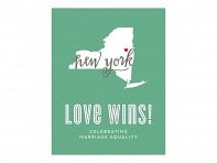 Design With Heart: Frameless Marriage Equality Poster - Case of 12