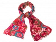 The Red Sari: Sari Circle Scarf - Sunset - Case of 12