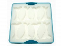 Messy Mutts: Silicone Bake and Freeze Treat Maker - Case of 6