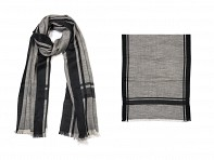 PAZ Collective: Well Suited Scarf - Black