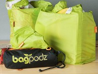 BagPodz: Reusable Bag Set - 10 Pack - Sample