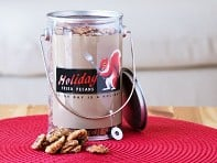 Holiday Fried Pecans: 16 oz. Gift Pail - Case of 12