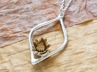 The Blessing Flower: Balanced Necklace - Sample