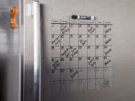 "Think Board: 14"" x 14"" Reusable Idea Calendar - Sample"