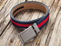 SlideBelts: Canvas Belt + Buckle