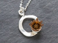 The Blessing Flower: Centered Necklace - Sample