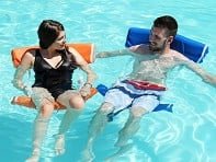Just Add Noodles: Adjustable Pool Float
