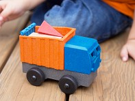 Luke's Toy Factory: EcoTruck Dump Truck - Sample