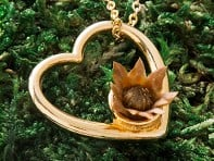 The Blessing Flower: Eternal Love Necklace - Sample