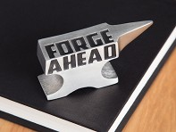 Vilmain: Pewter Paperweight - Forge Ahead