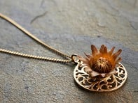The Blessing Flower: Lace Mandala Necklace