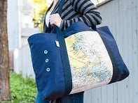 Not for Navigation: Custom Nautical Oversized Beach Tote - Case of 2