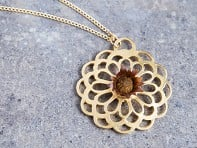 Lotus Mandala Necklace