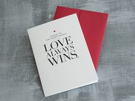 Design With Heart: Marriage Equality Single Cards - Case of 6