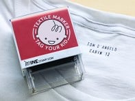 Minestamp: Personalized Label Stamp - Sample