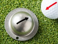 Tin Cup: Personalized Golf Ball Marker + Free Display - Case of 36