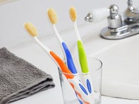 Mouth Watchers: Anti-Microbial Toothbrush - Case of 3 - Sample