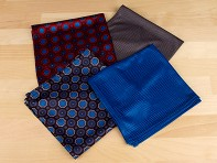 Würkin Stiffs: Pocket Square - Patterned Collection - Case of 24