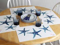 Fish Aye Trading: Fish-Rubbing Placemats - Set of 4