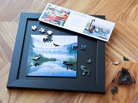Zen Art & Design: Small Wooden Jigsaw Puzzle Marketing Package