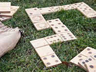 Wooden Dominoes - Case of 9