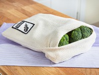Vejibag: Organic Terry Cloth Produce Storage Bag