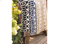 Farm2Fashion: Tile Pattern Throw
