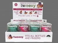 tweexy: Wearable Nail Polish Holder Starter Pack - Case of 24