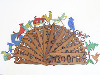 Whimsies: Painted Welcome Sign - Case of 12