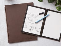 Wipebook Pro: Reusable Whiteboard Notebook - Sample