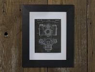 PatentPrints: Framed & Matted 8x10 - Case of 4