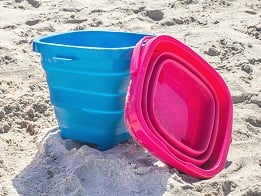 Packable Pails: Collapsible Bucket - Case of 24 -