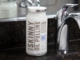 Skinny & Co.: Peppermint & Pulling Coconut Oils - 16 oz. - Case of 3 -