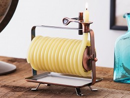 Candle by the Hour: Self-Extinguishing Coil Candle - Horizontal - Case of 4 -