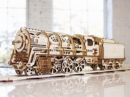 UGears: Intermediate Wooden Model Building Kits -