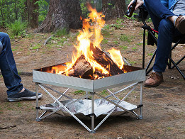 Fireside Outdoor: Pop-Up Pit Portable Fire Pit - Case of 2 -