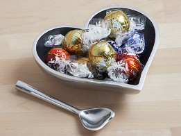 Inspired Generations: Heart Shaped Dish with Spoon -