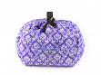 Deluxe Makeup Case - Purple Damask