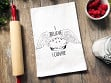 Flour Sack Kitchen Towel - I Believe I Can Pie