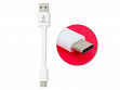 CableLinx Type-C to Type-A USB Cable - White - Case of 10