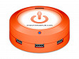 USB Universal Charging Station - Orange - 7 Port - Case of 6