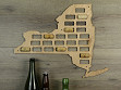 Wine Cork Map - New York