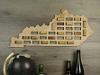 Wine Cork Map - Kentucky