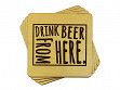 Drink Beer From Here Coaster - Wyoming - Case of 6