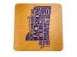 State Typography Coasters - Mississippi - Case of 6