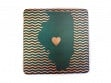 State with Heart Coasters - Illinois - Case of 6
