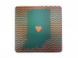 State with Heart Coasters - Indiana - Case of 6
