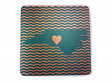 State with Heart Coasters - North Carolina - Case of 6
